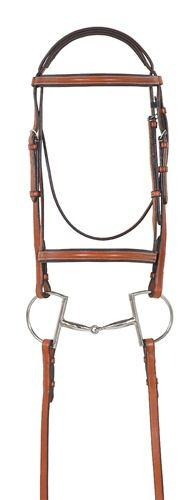 Ovation Ultra Raised Padded Bridle w-Comfort Crown