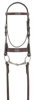 Northampton Collection: Flat Hunt Bridle w buckles by Ovation