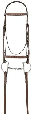 Avalon Fancy Raised Padded Bridle