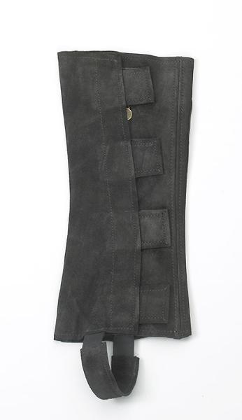 Ovation Ladies Suede 1/2Chaps w-hook & loop fastener