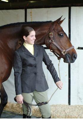 Ovation Ladies Melton Hunt Coat