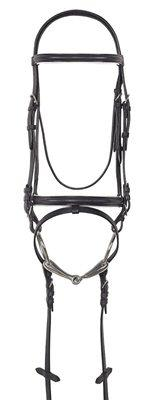 Camelot White Lined Dress Bridle
