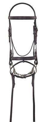 Camelot Lined Event Bridle w-Flash