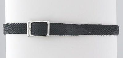 Braided Nylon Spur Strap-Black