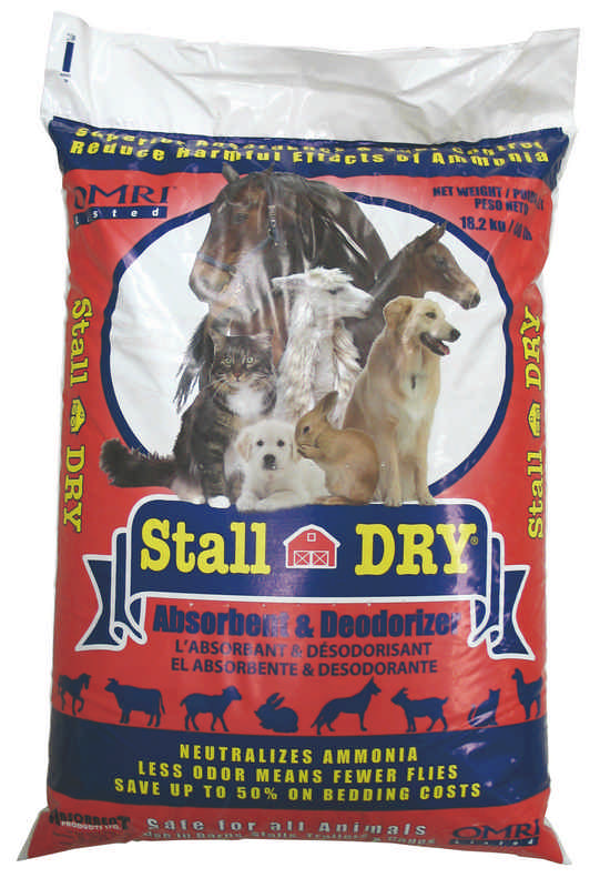 Stall Dry Deodorizer & Water Clean Up