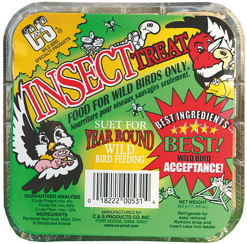 Insect Suet Treat