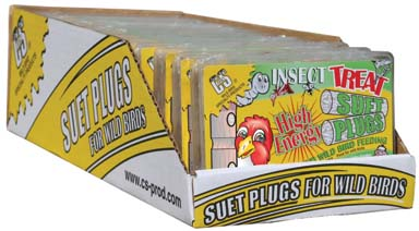 Insect Treat Suet Plugs
