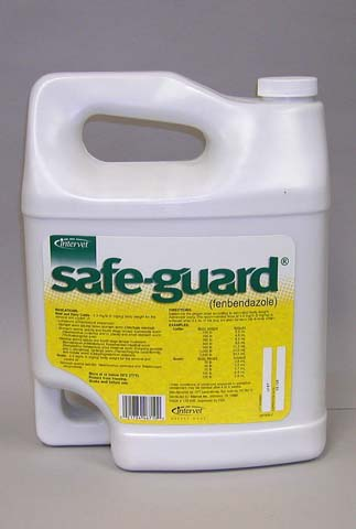 Safeguard Wormer Suspension