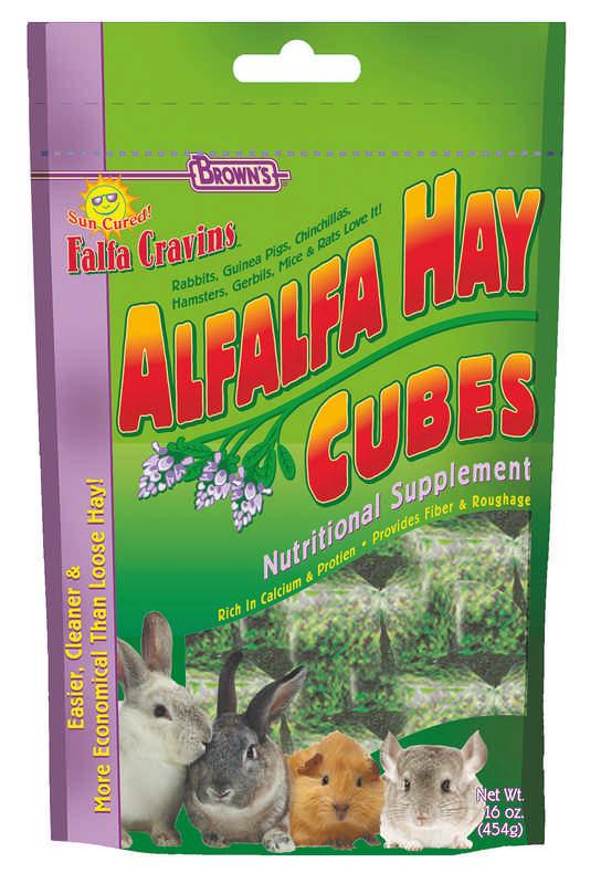 Falfa Cravins small animal Cube