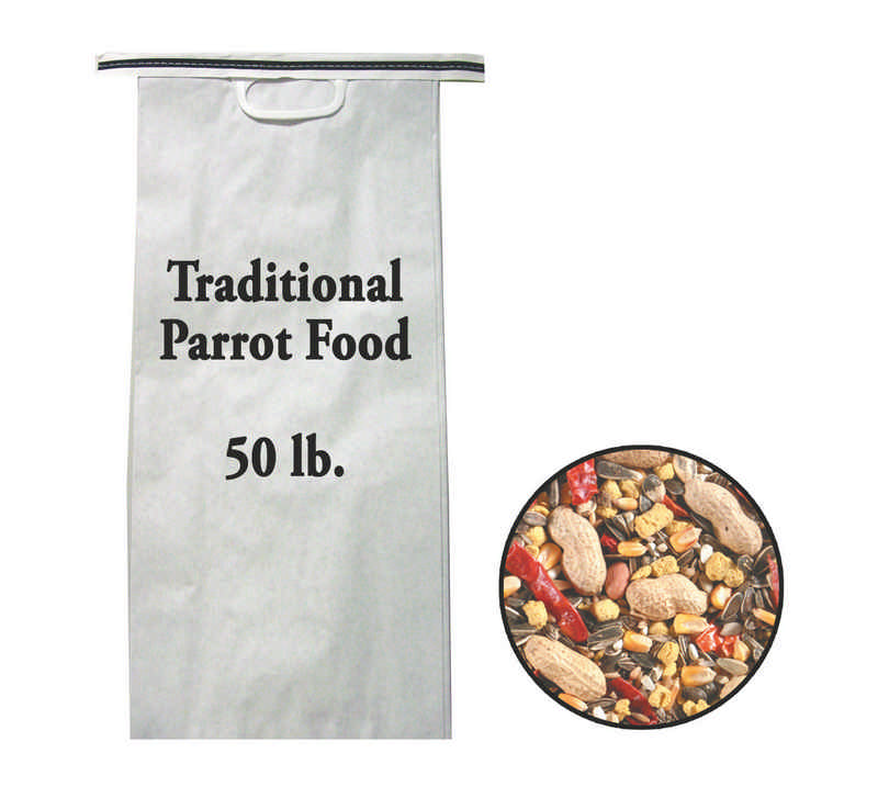 Parrot Traditional Food