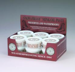Snow Proof Mink Oil Paste