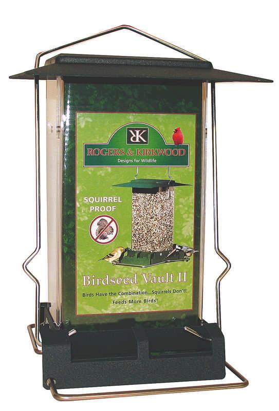 Birdseed Vault II Feeder