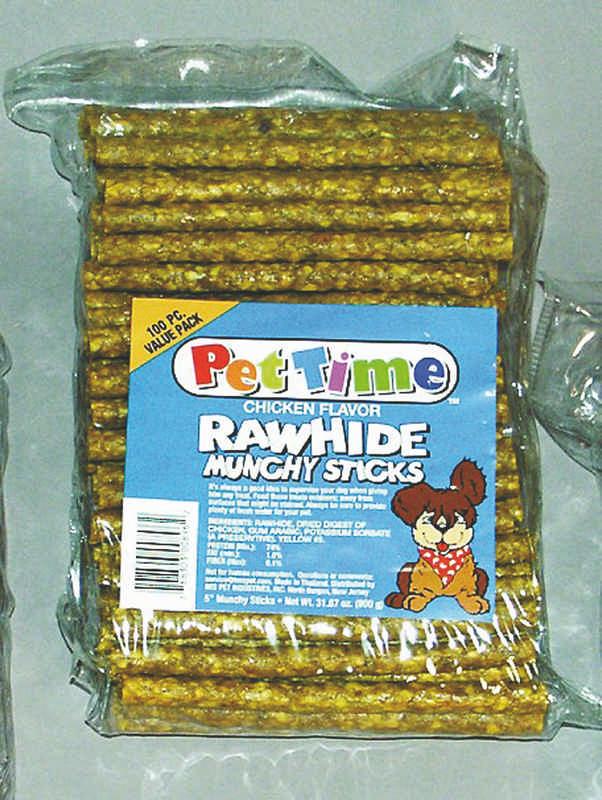 5 Inch Rawhide Munchy Sticks