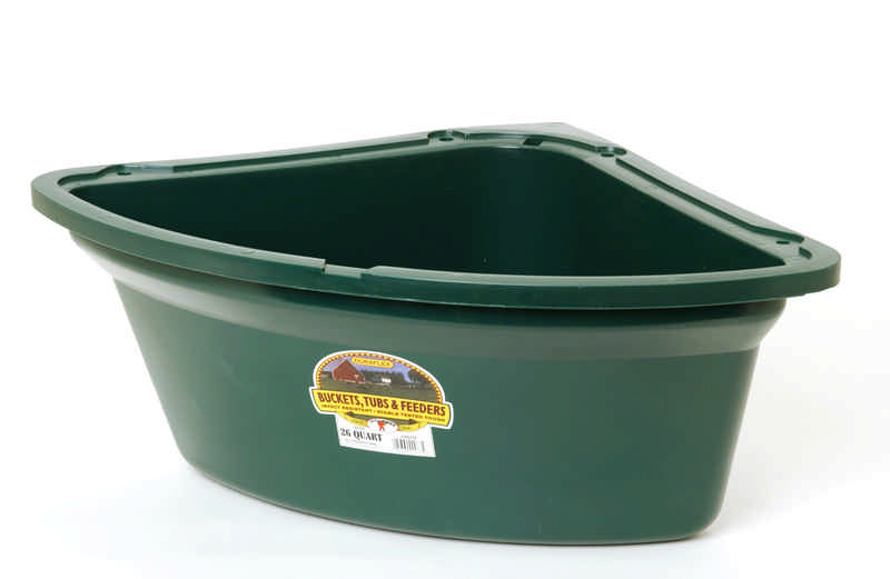 large animal Corner Feed Tub