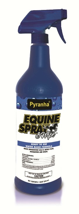 Pyranha Equine Spray and Wipe Fly Spray