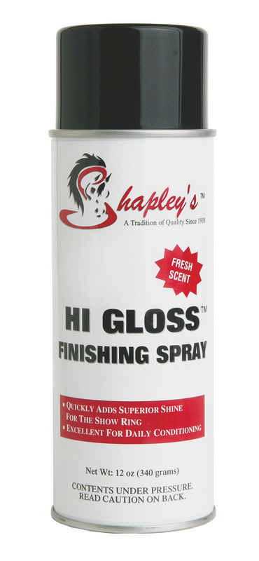 Hi Gloss Finishing Spray for horses