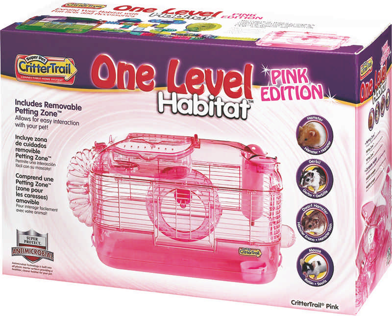 Crittertrail Pink rodent home