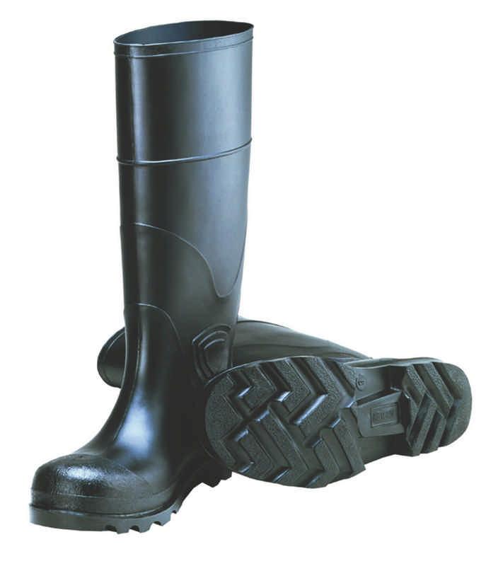 Mens Tingley General Purpose PVC Plain Toe Knee Boots