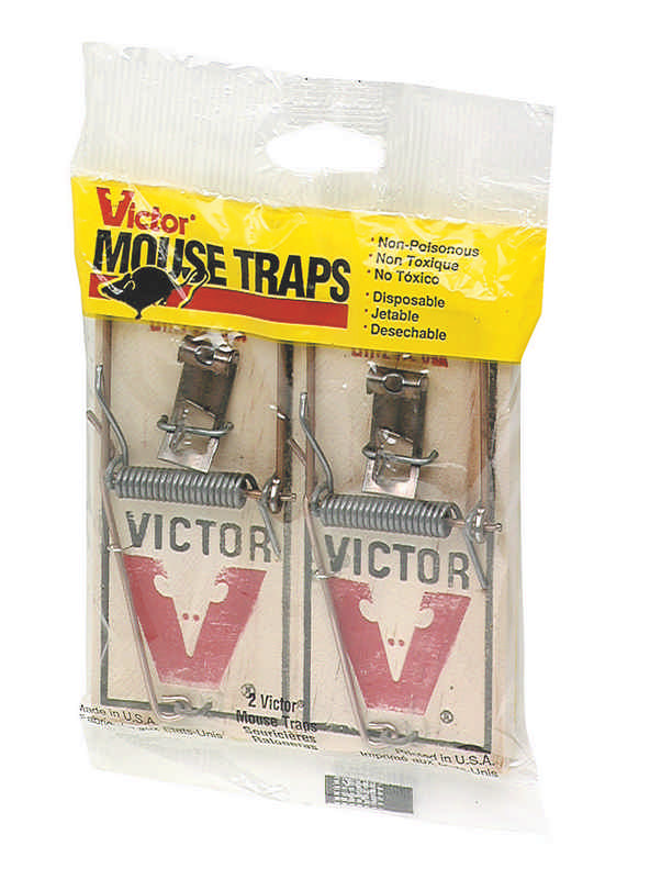 Twin Wood Mouse Trap