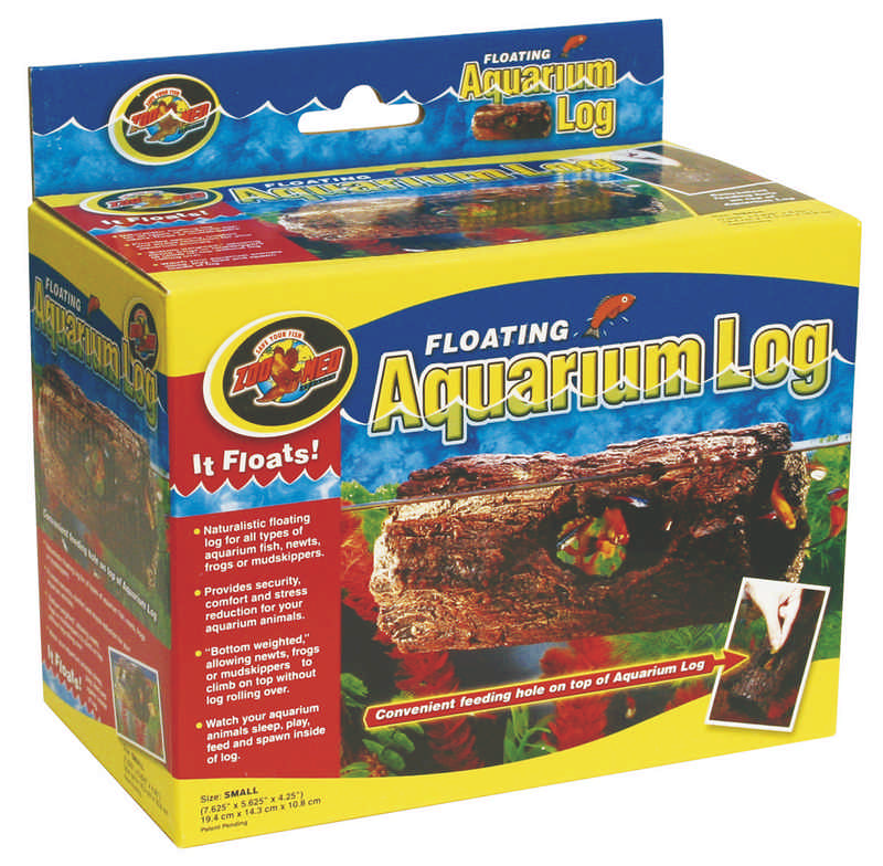 Floating Aqua Log for aquariums