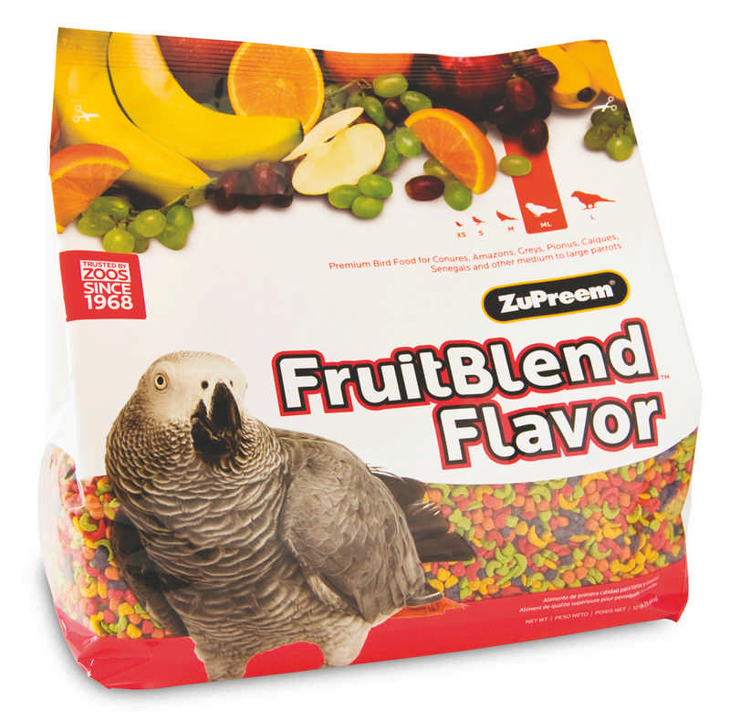 Fruitblend Parrot and Conure
