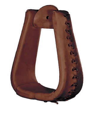 Tucker Oversized Leather Laced Stirrup