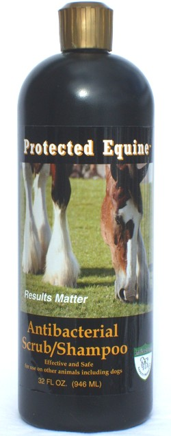 Protected Equine Antibacterial Scrub/Shampoo