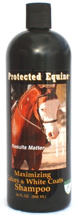 Protected Equine Max Color & Whitening Shampoo