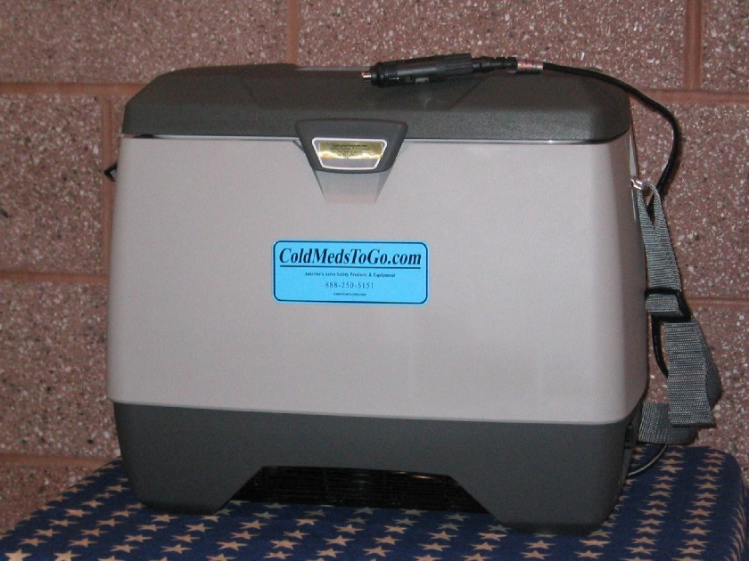 ColdMedsToGo Portable Refrigerator or Freezer AC/DC