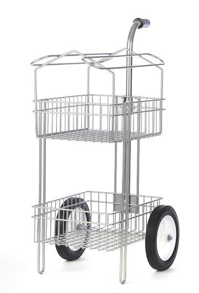 Saddle Rack for Rolling Basket Cart