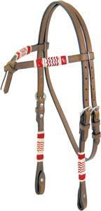 Cowboy Pro Rawhide Trim Headstall