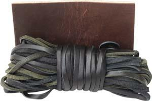 Abetta Bag Of Leather Strings
