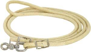Abetta Braided Wax Roping Reins