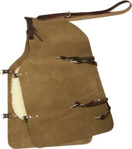 Abetta Leather Farrier Apron with Fleece