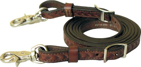Tex Tan Tooled Split Reins
