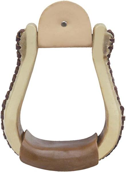 Tex Tan Rawhide Bell Stirrups