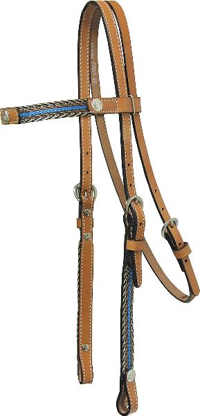 Tex Tan Headstall with Imitation Horsehair