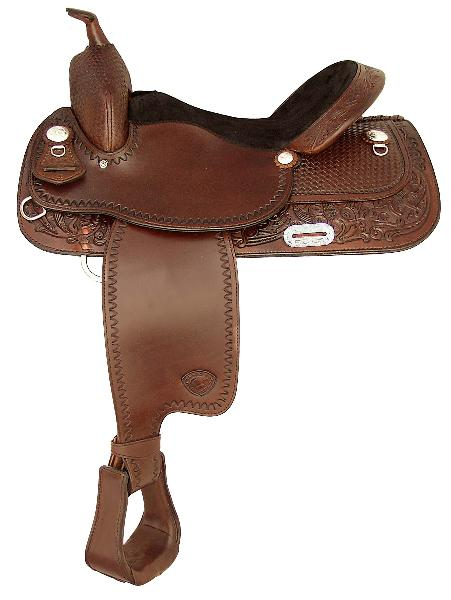 Tex Tan Hereford High Prarie Pleasure Saddle