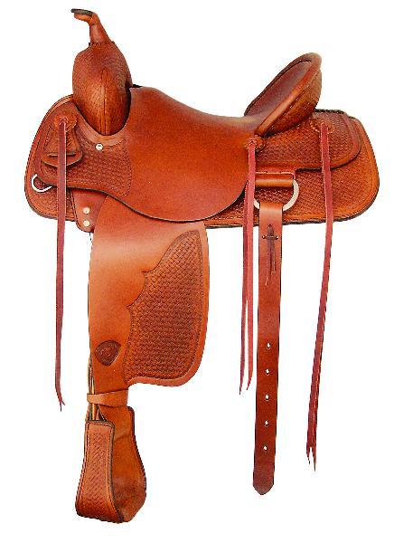 Tex Tan Hereford Muleskinner Ranch Saddle