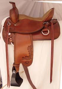 Tex Tan Hereford Trail Boss Saddle