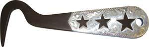 Abetta Engraved Silver Overlay 6'' Hoof Pick