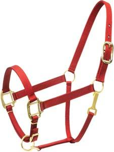 Abetta Deluxe Nylon Halter with Snap