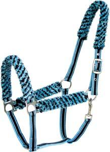 Abetta Fuzzy Halter with Matching Lead