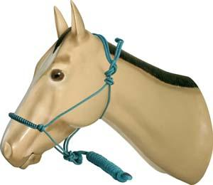Abetta Rope Halter with Lead