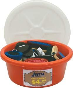 Abetta Tub/Brush Package
