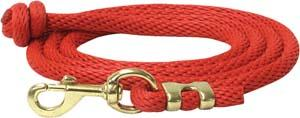 Abetta Round Nylon Lead with Brass Snap