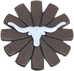Abetta Longhorn Key Chain