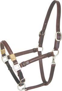 Abetta Leather Halter