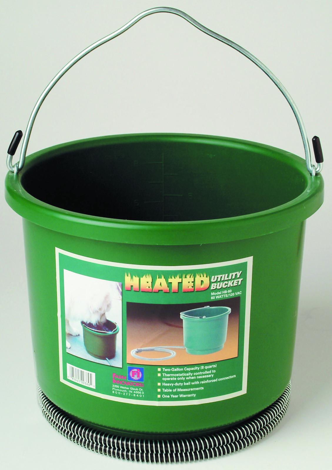 Farm Innovators Heated Utility Bucket