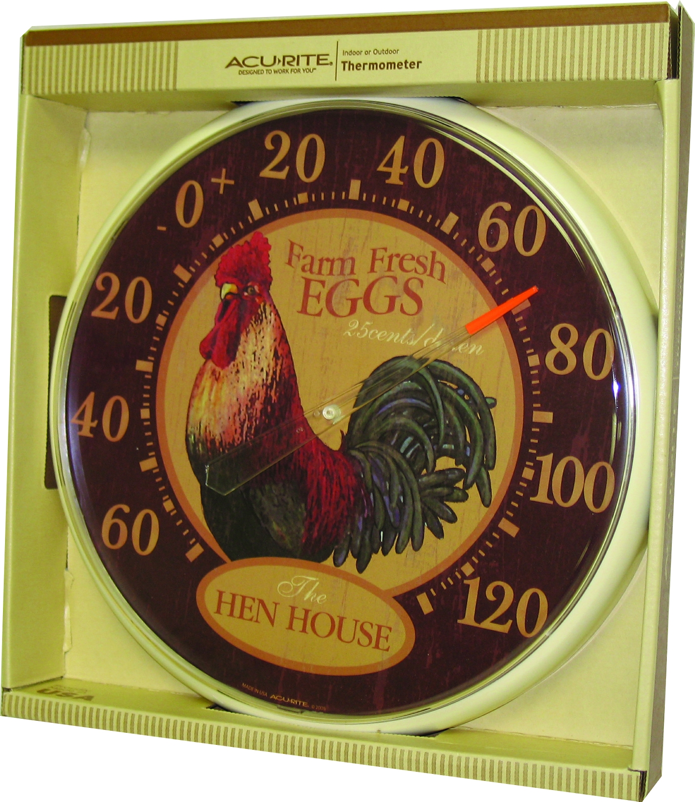Thermometer Hen House